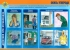 """Комплект плакатов """"Действия при отравлениях ядовитыми веществами"""" 11 листов. Формат А3"""