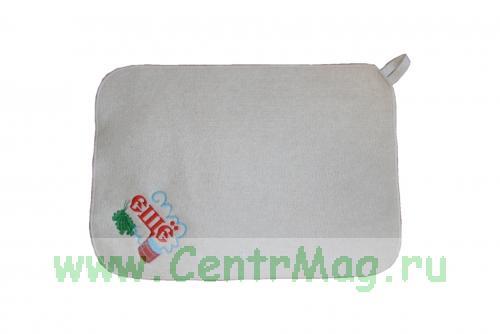 Коврик для сауны с вышивкой