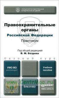 Правоохранительные органы Российской Федерации. Практикум: учебное пособие