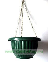 Кашпо на цепочке 20 см х 12см/30 см