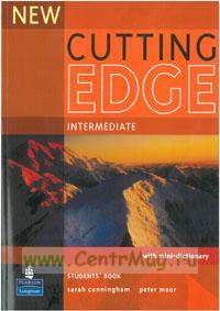 New Cutting Edge Intermediate. Student's book+ mini-dictionary + CD