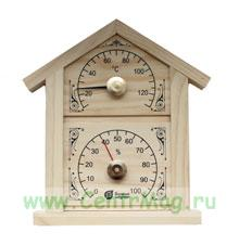 Термометр + гидрометр