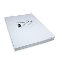 Термоклеевое скрепление журнала, используется при большом количестве страниц