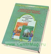 Самостоятельные и итоговые работы к учебнику