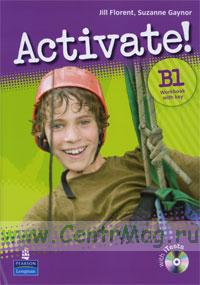 Activate! B1 Workbook with key + CD