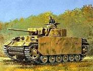 Модель-копия из бумаги танка PzKpfwlll Aust.M