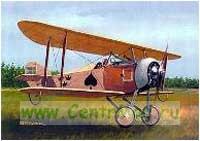 Модель-копия из бумаги самолета O-1 Tummelisa