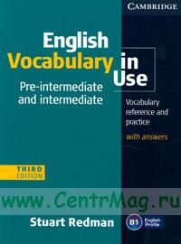 English Vocabulary in Use (third edition)