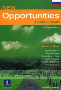 New Opportunities Russian Edition. Intermediate. Students' Book + mini dictionary