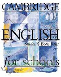 Cambridge English for schools. Student's Book Four (4)