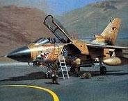 Модель-копия из бумаги самолета Tornado GR.1