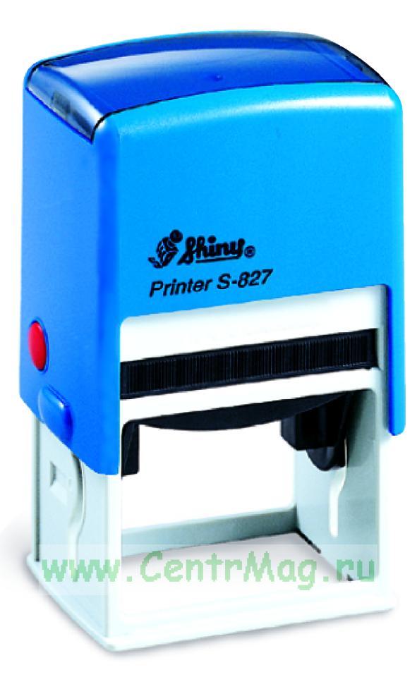 Оснастка для штампа S-827 Printer Line оснастка для штампа 50х30
