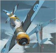Модель-копия из бумаги самолета B-239 Buffalo