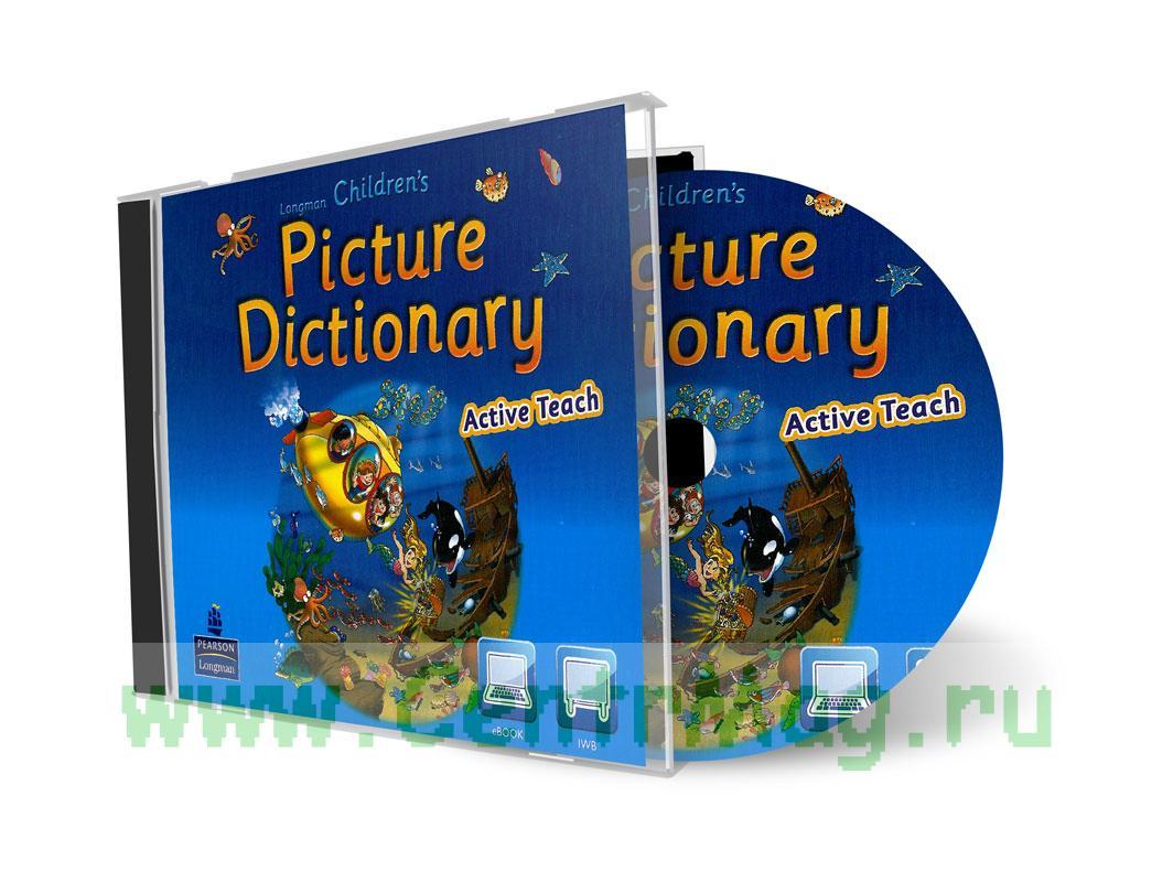 СD Longman Children's Picture Dictionary Active Teach