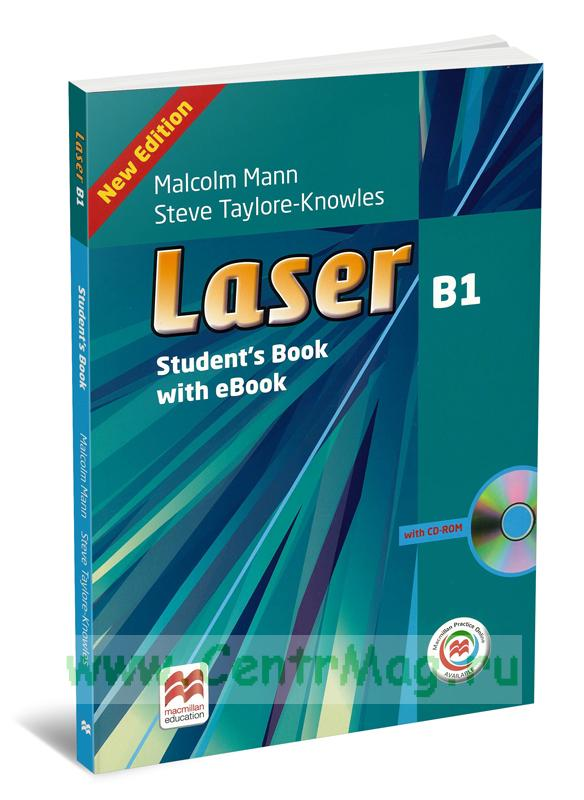 Laser B1 Students Book with eBook + CD