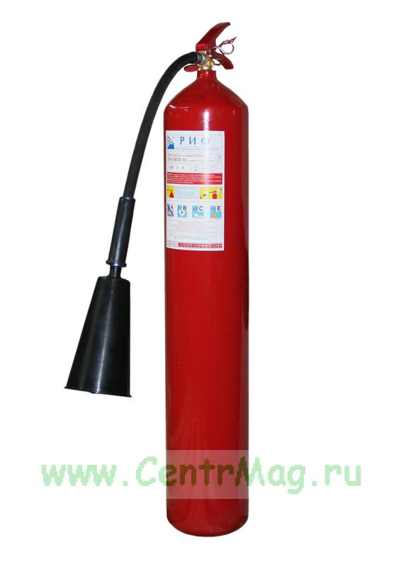 Огнетушитель углекислотный ОУ-5