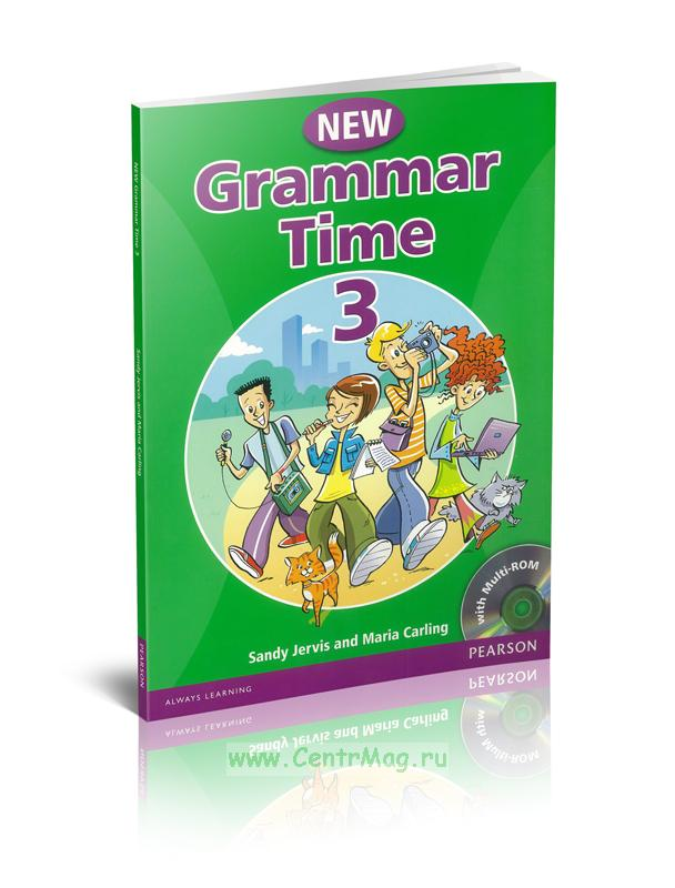 New Grammar Time 3 with multi-ROM (CD)