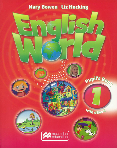 English World. Pupil's book 1 with eBook + CD