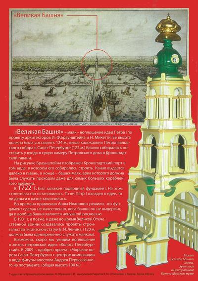 7 чудес света Кронштадтской земли. Эпоха великих отркытий 1704-1914