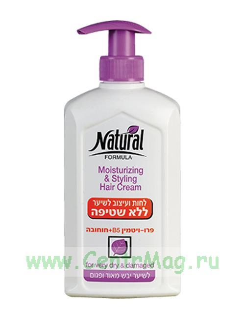 Natural Formula Увлажняющий крем для волос с маслом жожоба, 400 мл