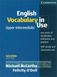 English Vocabulary in Use. Upper-intermediate (second edition)