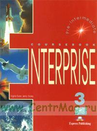 Enterprise 3. Pre-Intermediate. Coursebook