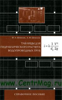 Таблицы для гидравлического расчета водопроводных труб: Справочное пособие (11-е издание, дополненное)