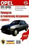 Руководство по техническому обслуживанию и ремонту. Opel Ascona 1981-88 гг.