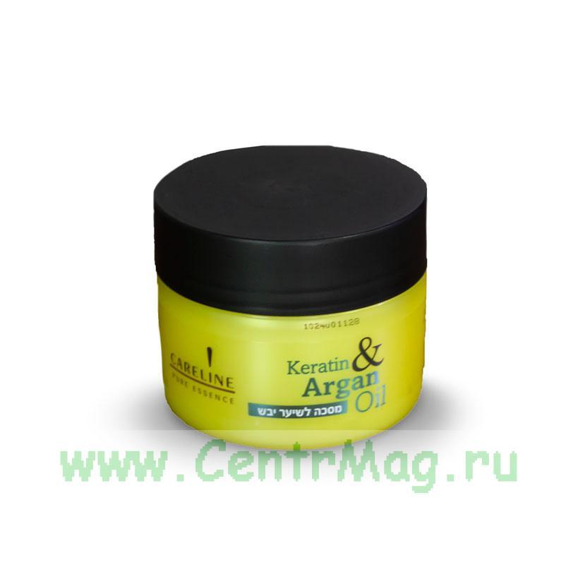 Маска с кератином и аргановым маслом витаминизированная, 300 мл
