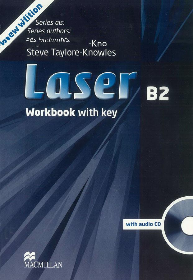 Laser B2 Workbook with Key + CD