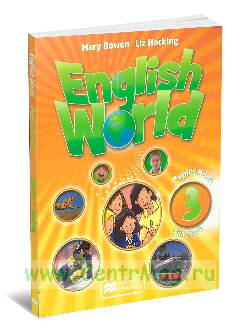 English World. Pupil's book 3 with eBook + CD