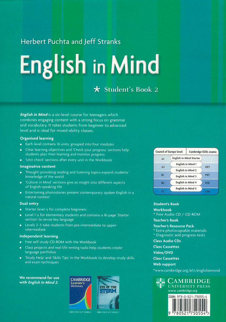English in Mind. Students Book 2