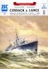 Модель-копия из бумаги корабля Cossack & Lance