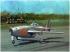 Модель-копия из бумаги самолета Jak-17