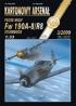 Модель-копия из бумаги самолета Fw 190 A-8/R8 sturmbock