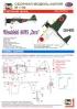 Модель-копия из бумаги самолета Mitsubishi A6M5 Zero. Масштаб 1:50