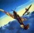 Модель-копия из бумаги самолета Spitfire IXc