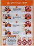 """Комплект плакатов """"Безопасная эксплуатация погрузчика"""" (10 листов)"""