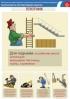 """Комплект плакатов """"Безопасность при плотницких работах"""". (2 листа, ламинат)"""