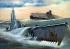 Модель-копия из бумаги подводной лодки USS Archerfish