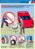 "Комплект плакатов ""Охрана труда при монтаже-демонтаже шин"". (4 листа, ламинат)"