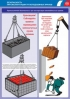 """Комплект плакатов """"Безопасность при эксплуатации автомобильных кранов"""". (16 листов, ламинат)"""
