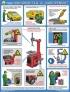 """Плакат """"Безопасность работ в авторемонтной мастерской. Шиномонтаж и шиноремонт"""" (61х45 см)"""