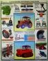"""Комплект плакатов """"Безопасность работ в сельском хозяйстве"""". 5 л. 61х45 см. Обжатый металлическими планками (верхняя с петелькой + нижняя, металлик)"""