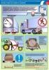 """Комплект плакатов """"Охрана труда при сцепке, расцепке и буксировке автомобилей"""". (3 листа, ламинат)"""