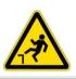 Осторожно! Возможность падения с высоты. Знак