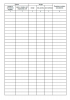 Журнал монтажа кабельных муфт напряжением до 1000 В форма