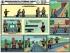 """Комплект плакатов """"Безопасность путевых работ"""". (6 листов, 61х46 см)"""