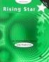 Rising Star Intermediate Practice Book with Key