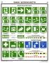 "Комплект плакатов ""Знаки безопасности по ГОСТ 12.04.026-01"". (4 листа)"